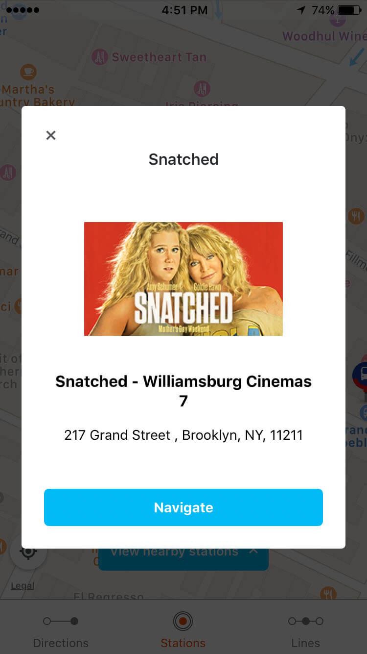 Snatched Moovit Directions More Info