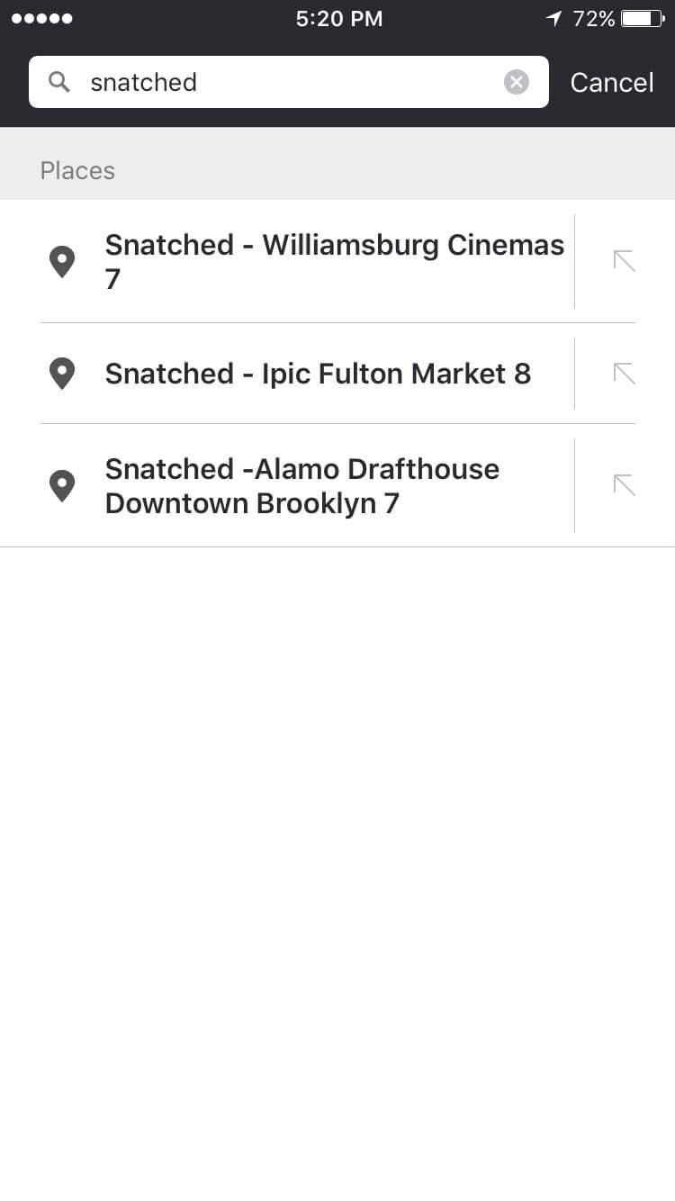 Snatched Moovit Directions Search