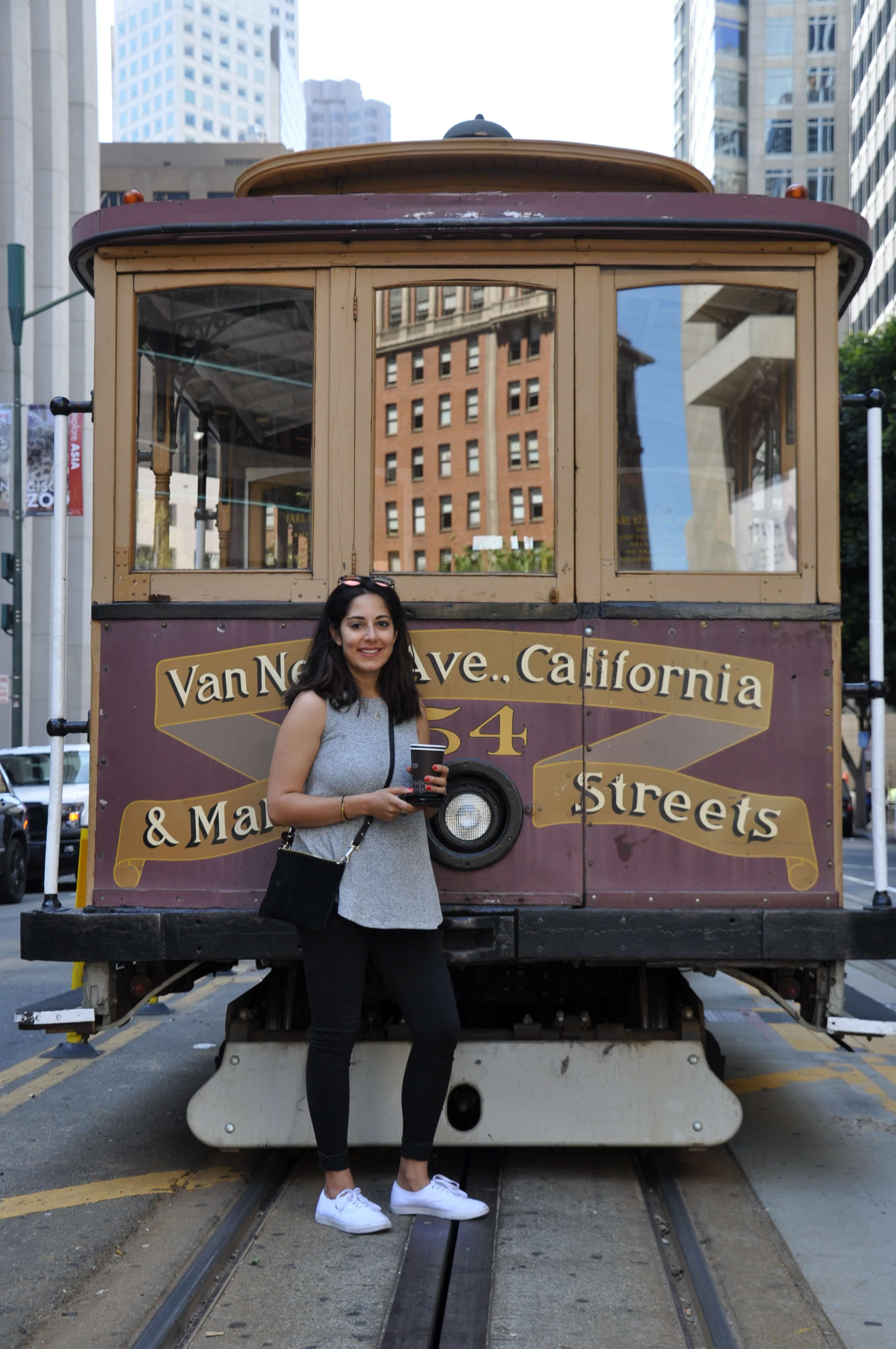 Commuter Kate Moovit's Transit Tipster Cable Care San Francisco
