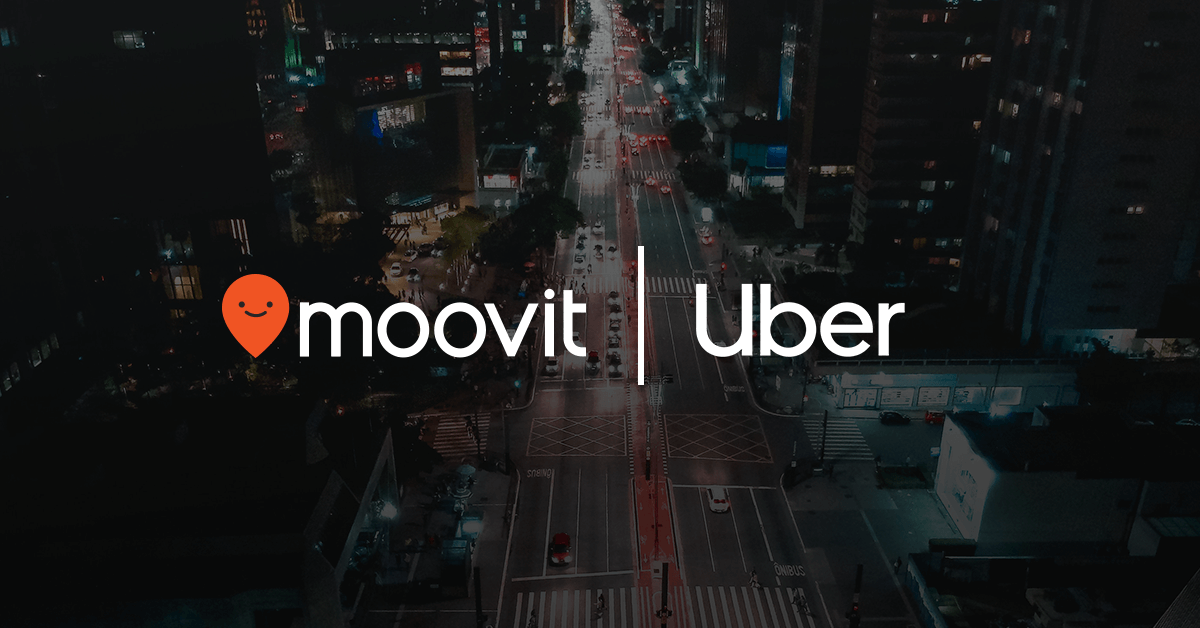 Uber Moovit Partnership