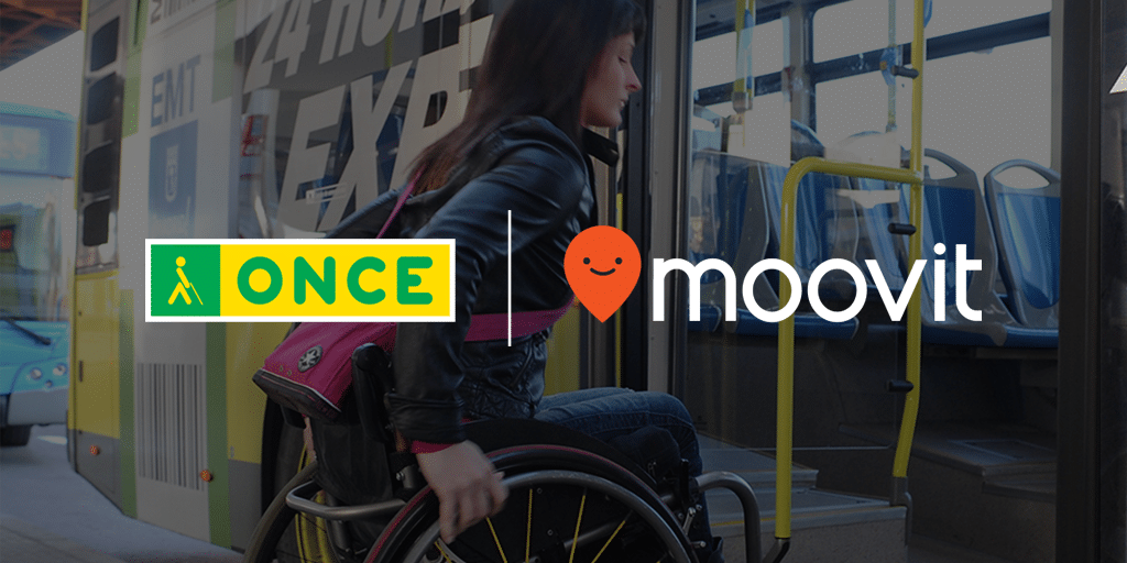 The ONCE Foundation & Moovit Team Up to Make Public
