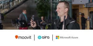 Moovit partners with Microsoft Azure and Aira