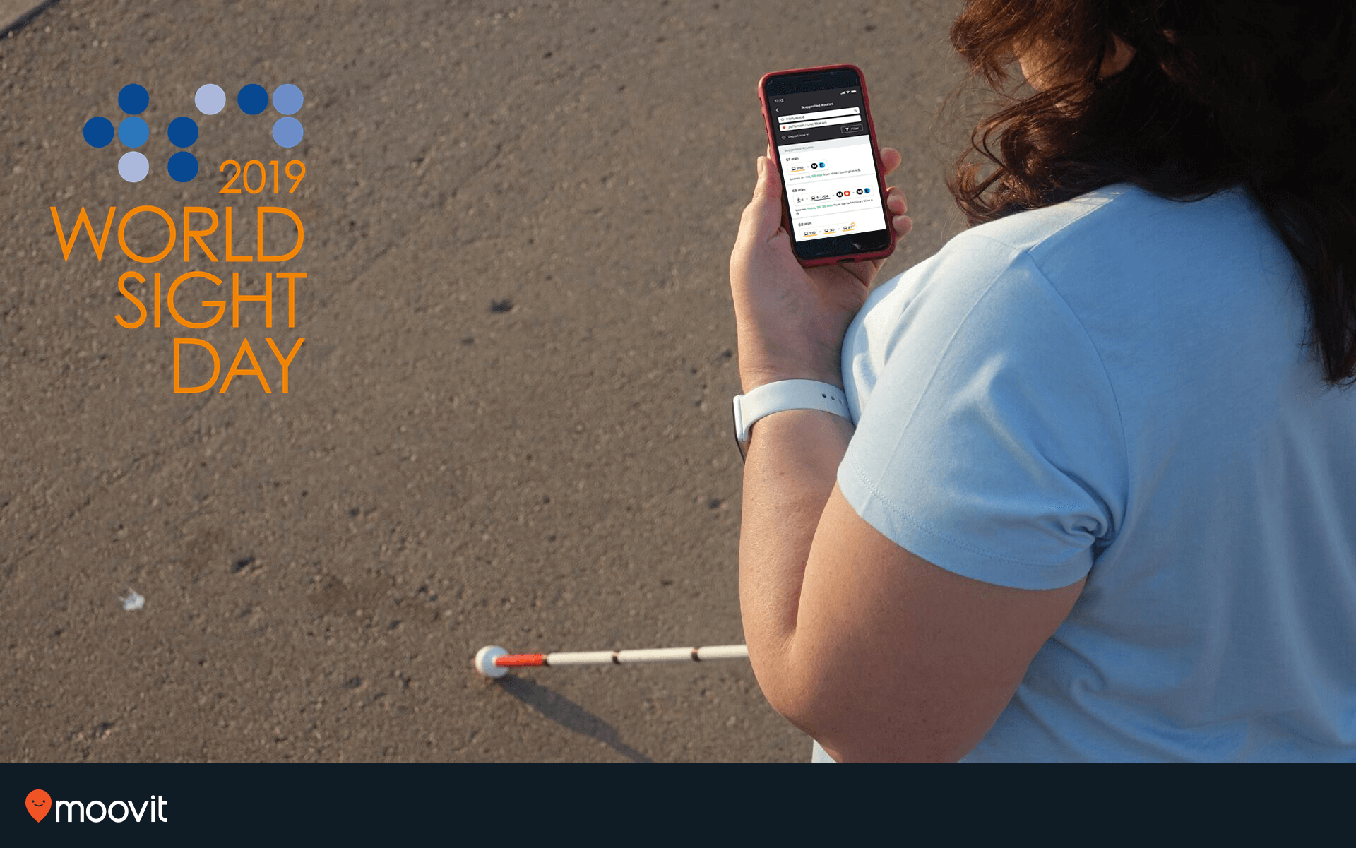 World Sight Day 2019 - Moovit