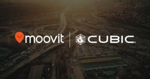 Cubic and moovit partnership