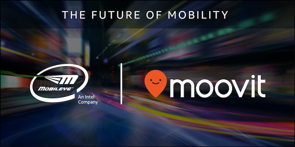 Intel Mobileye Moovit acquisition blog header