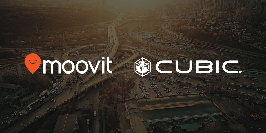 Moovit Cubic Partnership