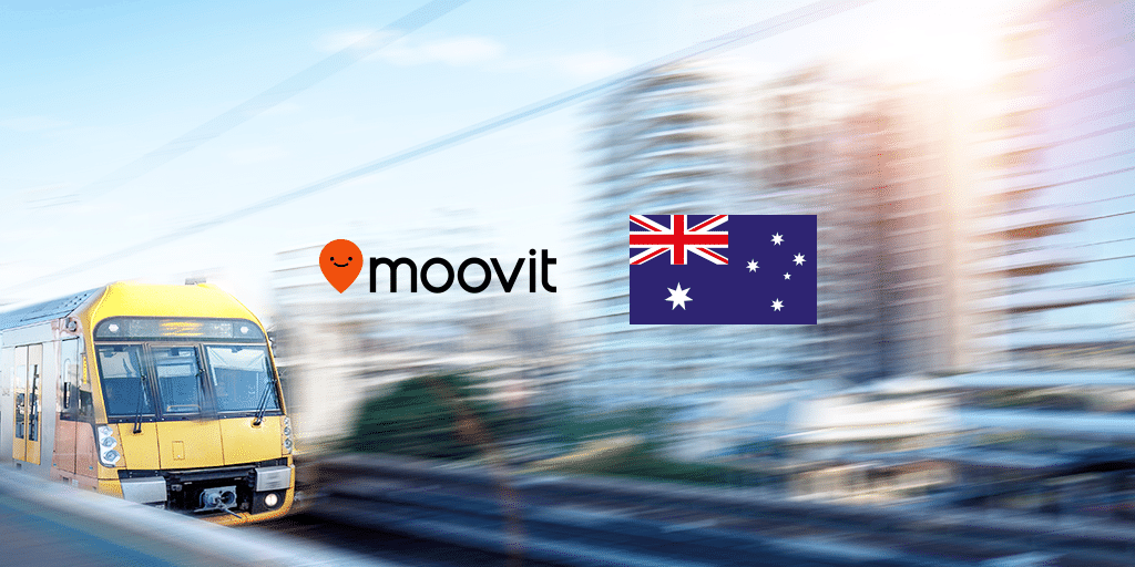 Moovit and MaaS in Australia
