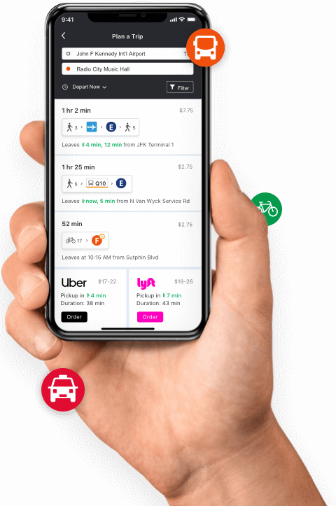Moovit Maas Solutions The 1 Urban Mobility App