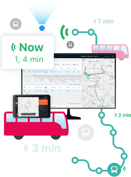 Moovit TimePro - Real-Time for Buses graphic